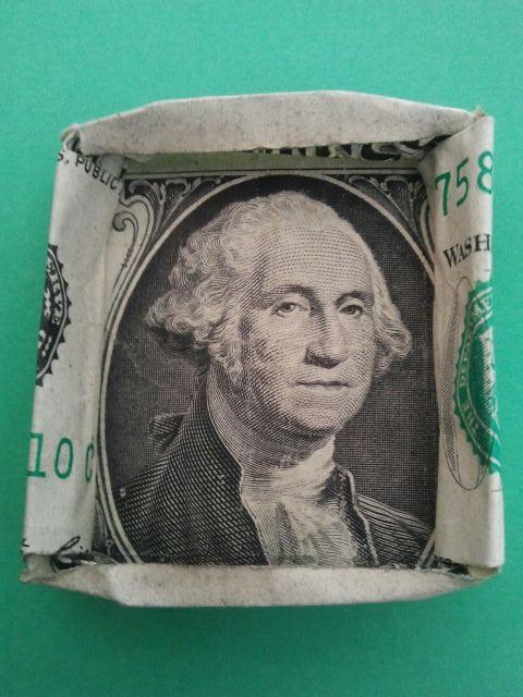 George Washington Framed. 3.5.2017.