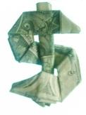 Origami Dollar Sign 4.2.2017