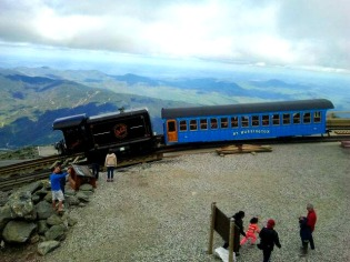 Cog Train Climbing Mount Washington 5.27.2017