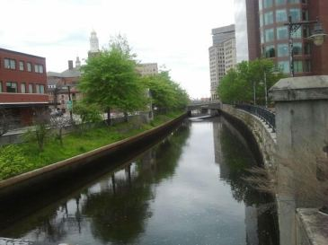 Canal, Providence, Rhode Island 5.28.2017