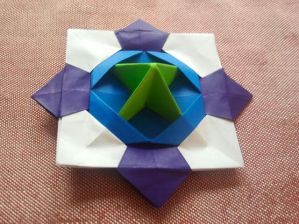 Origami Spinning Top 5.27.2017