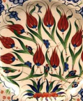 Tulip Design on Ceramics