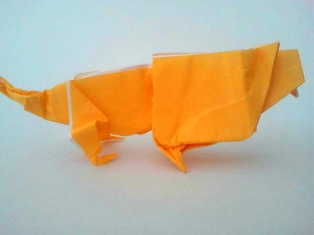 Monstrous Origami Creature 6.29.2017