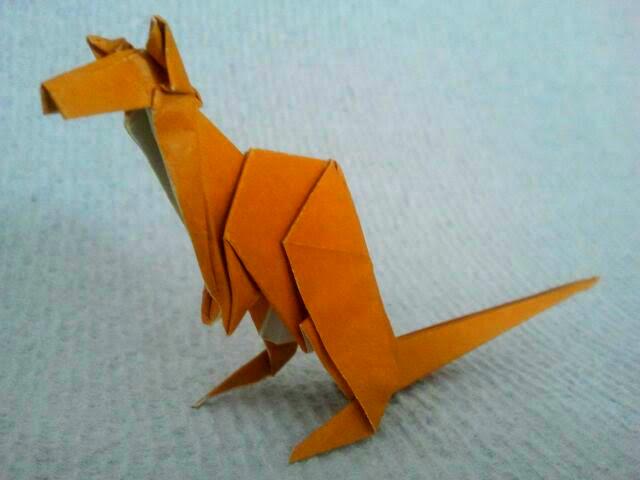 Origami Kangaroo 6.24.2017
