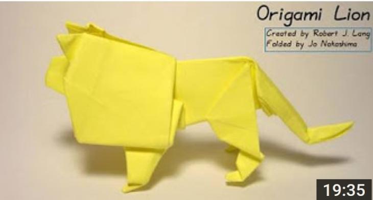 OrigamiLion