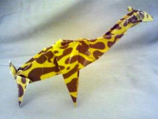 Origami Giraffe 7.9.2017