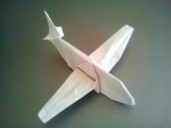 Origami Airplane 7.21.2017