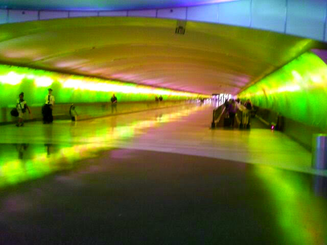 Detroit Airport Connecting Tunnel 7.19.2017