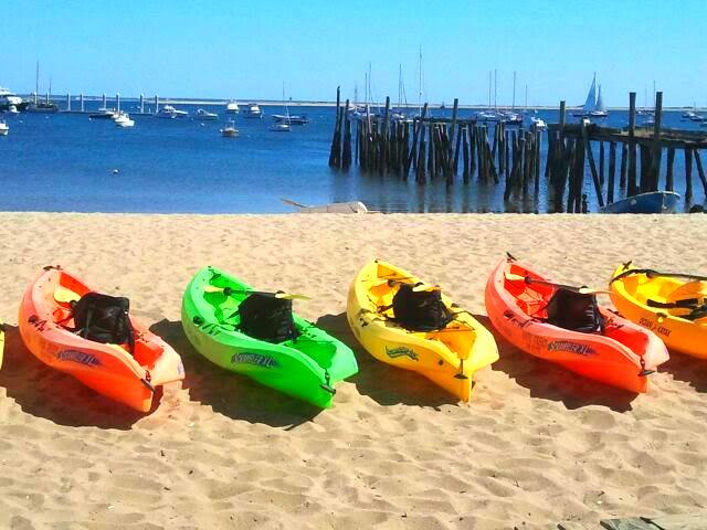 Provincetown Beach Kayaks. 9.1.2017.