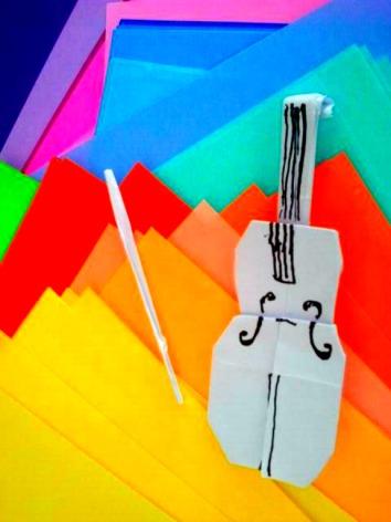 Origami Cello 9.24.2017