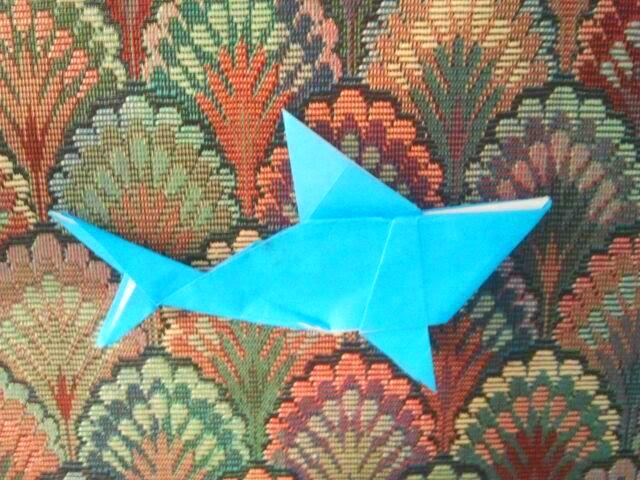 Origami Shark 9.9.2017
