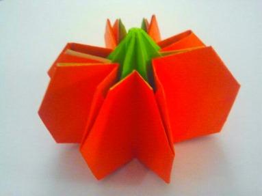 Origami Pumpkin 10.28.2017