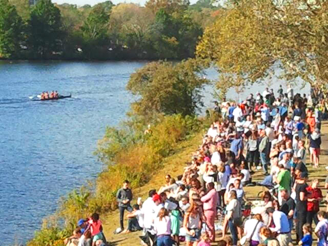 Crowds at Head of the Charles. 10.22.2017