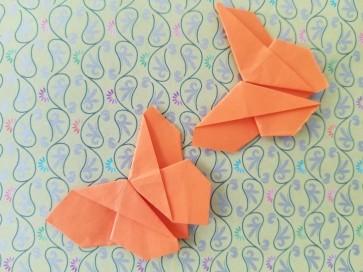 Origami Butterflies 6.25.2018