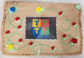 OrigamiUSA Cake 6.25.2018