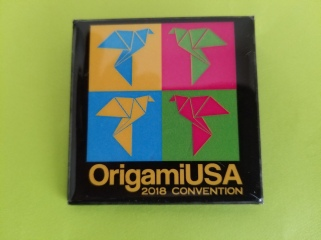 OrigamiUSA 2018 Convention Pin