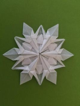 Origami Snowflake 6.23.2018